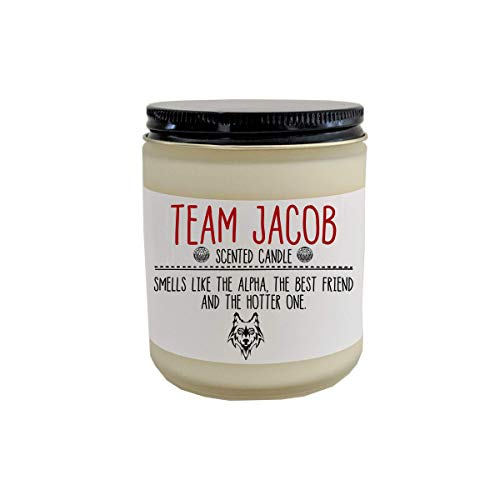 Team Jacob scented candle