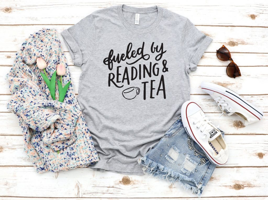 Fueled by reading at tea
