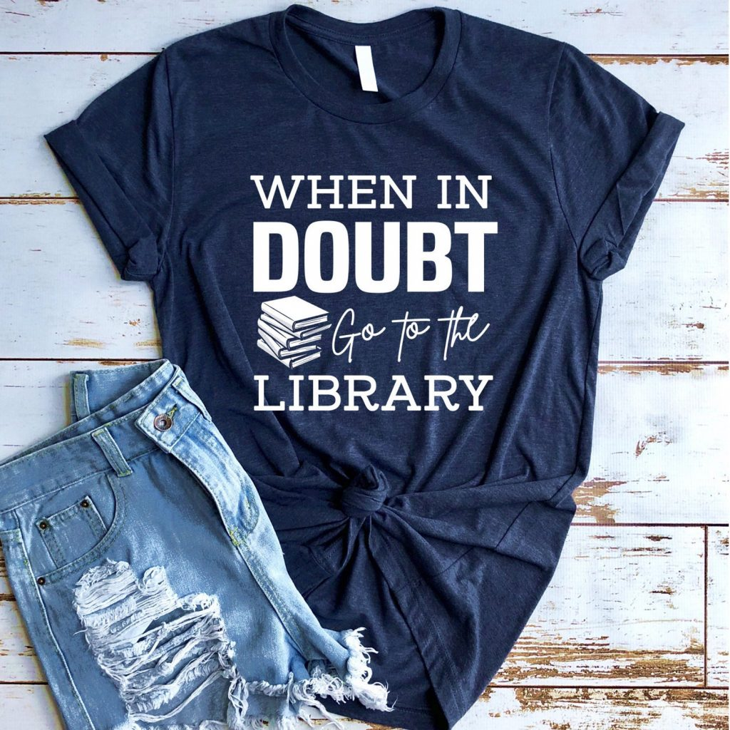 When in doubt, go to the library