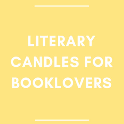 Literary Candles for Booklovers