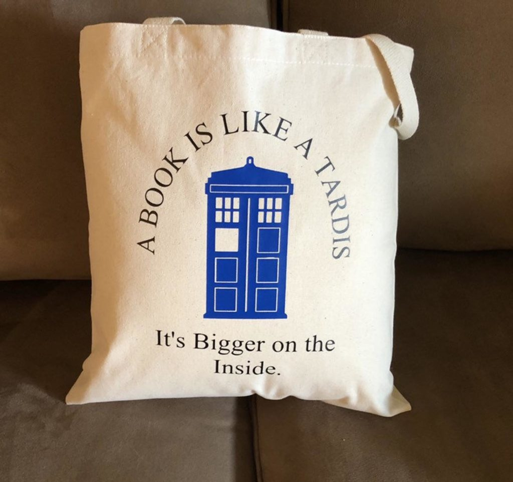 A Book is Like a Tardis: It's Bigger on the Inside