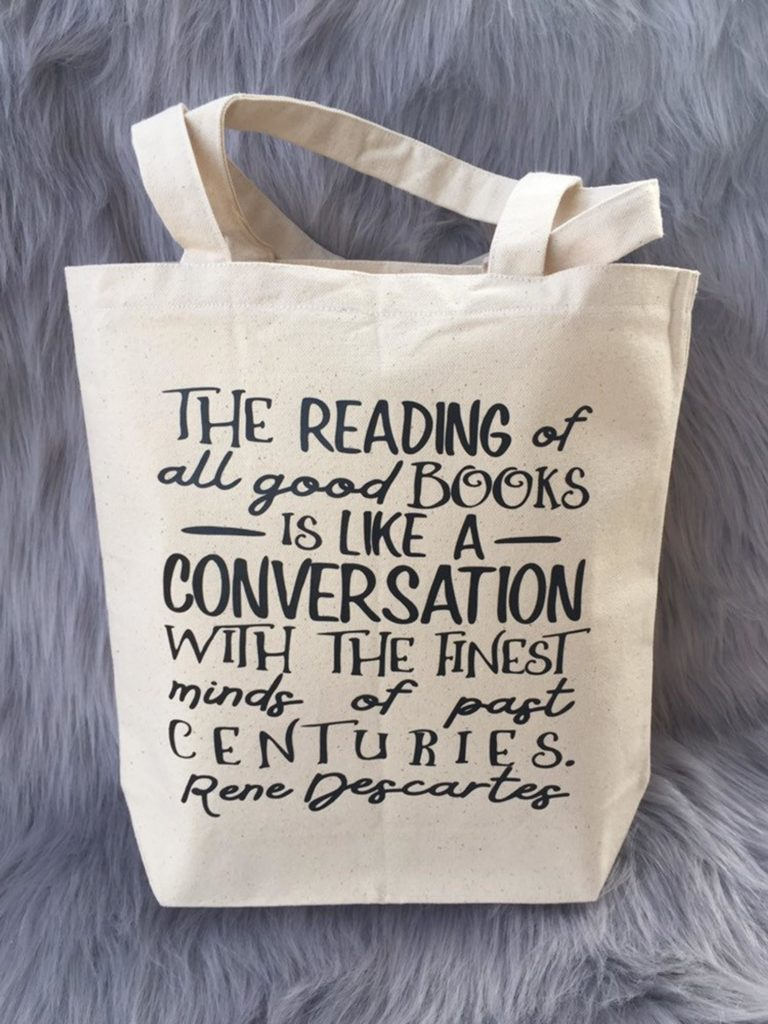 The Reading of All Good Books is Like a Conversation with the Finest Minds of Past Centuries -- Rene Descartes