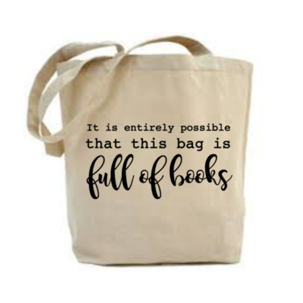 It is entirely possible that this bag is full of books