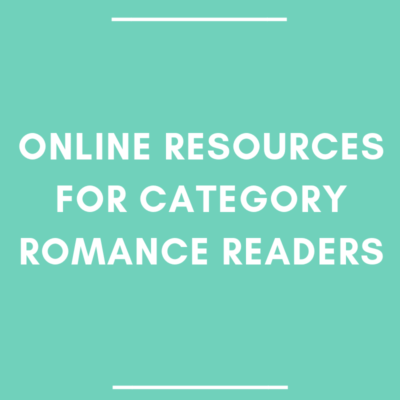 Online Resources for Category Romance Readers