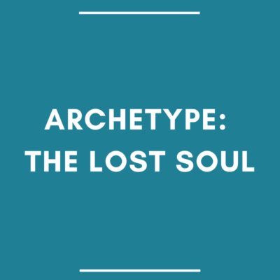 romance hero archetype: lost soul
