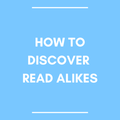 How to Discover Read Alikes