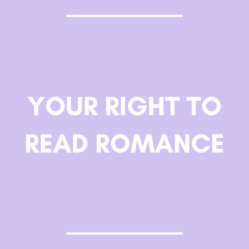 Your Right to Read Romance