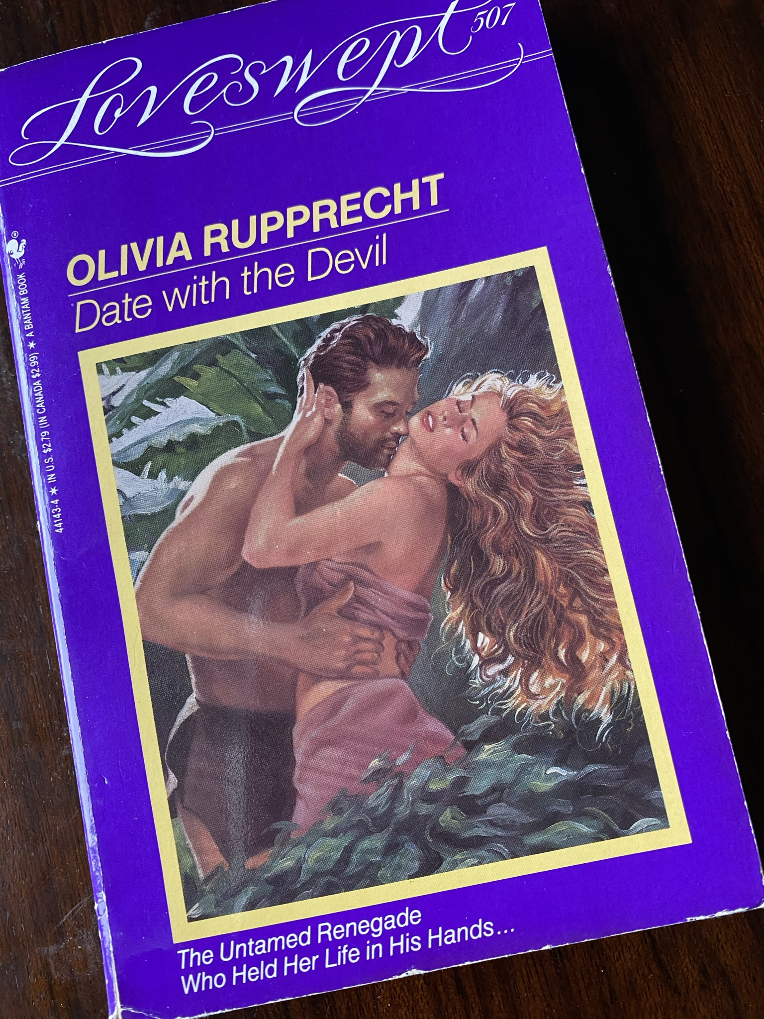 Date with the Devil by Olivia Rupprecht was published in the Loveswept imprint