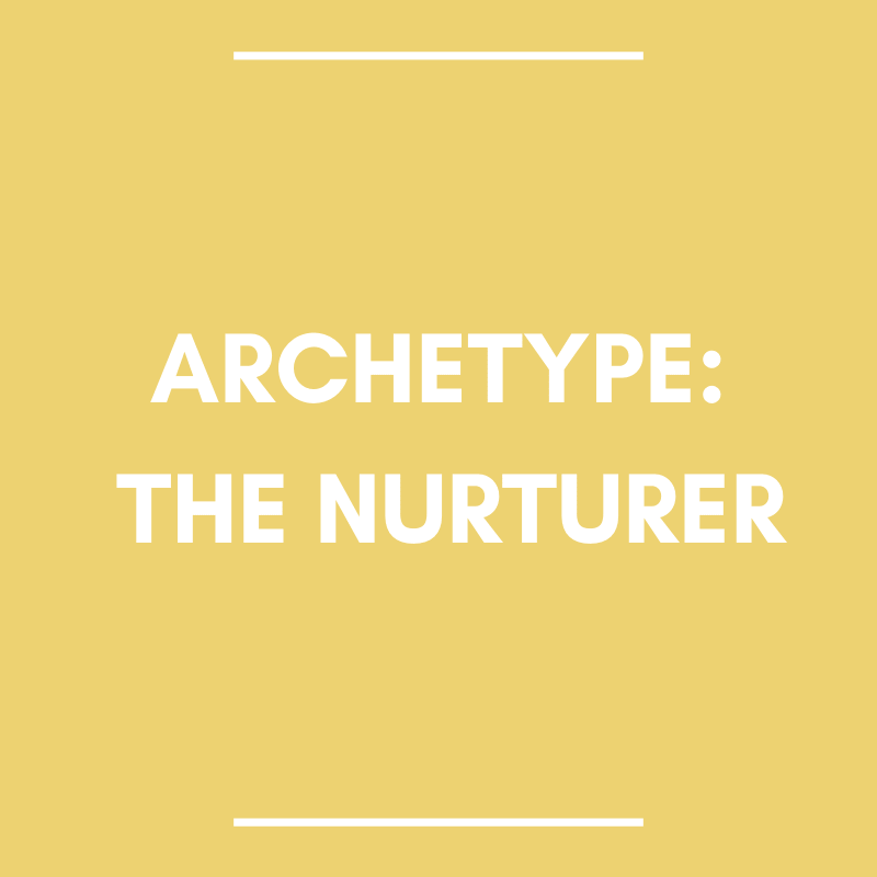 the nurturer hero and heroine archetype