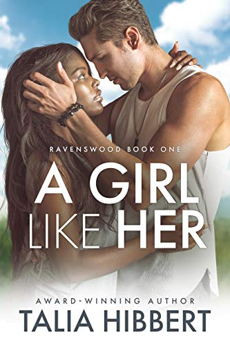 book cover for  A Girl Like Her by Talia Hibbert