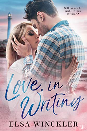 book cover for Love, In Writing by Elsa Winckler
