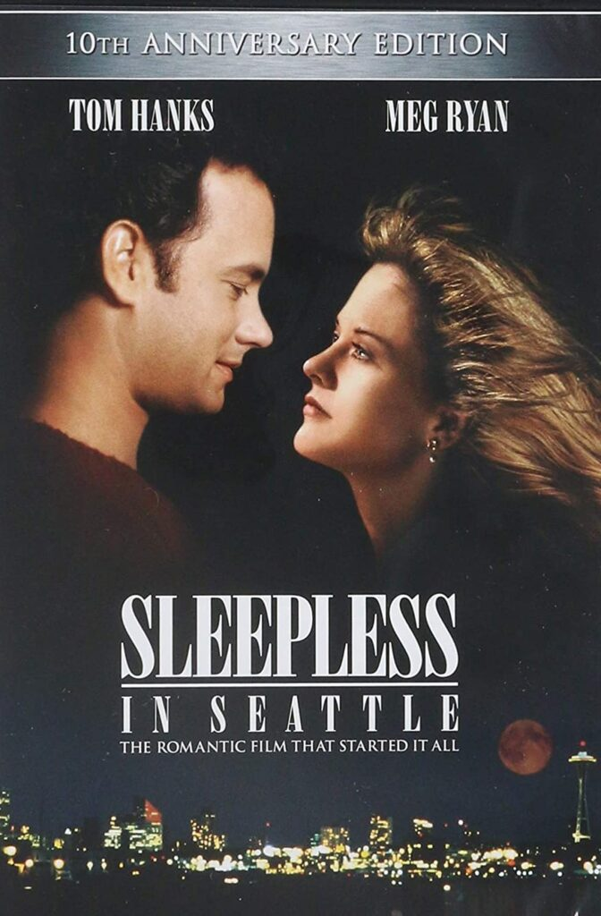movie poster for Sleepless in Seattle
