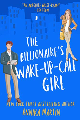 book cover for The Billionaire's Wake-Up-Call Girl by Annika Martin