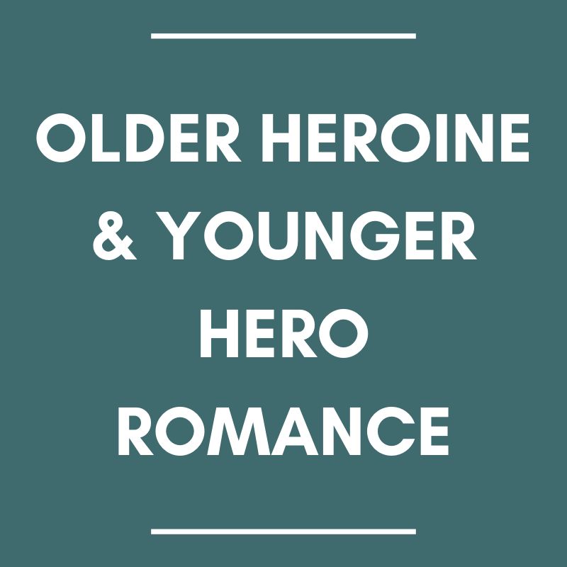 older heroine and younger hero romance