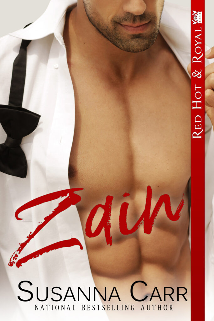 book cover for Zain by Susanna Carr