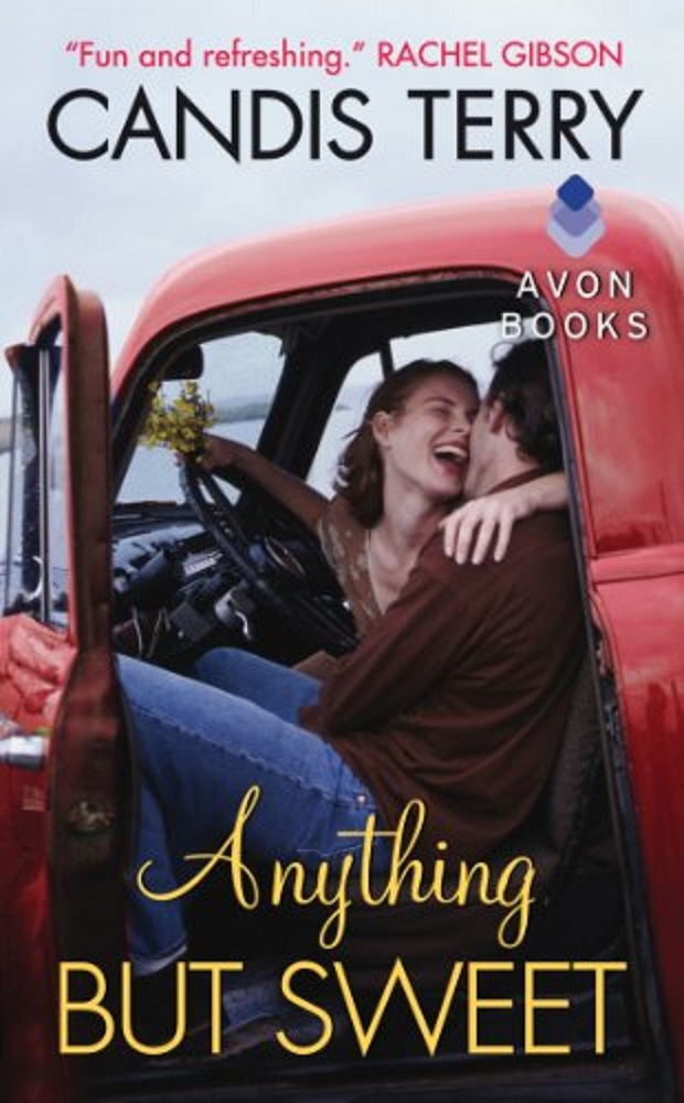 book cover for Anything But Sweet by Candis Terry